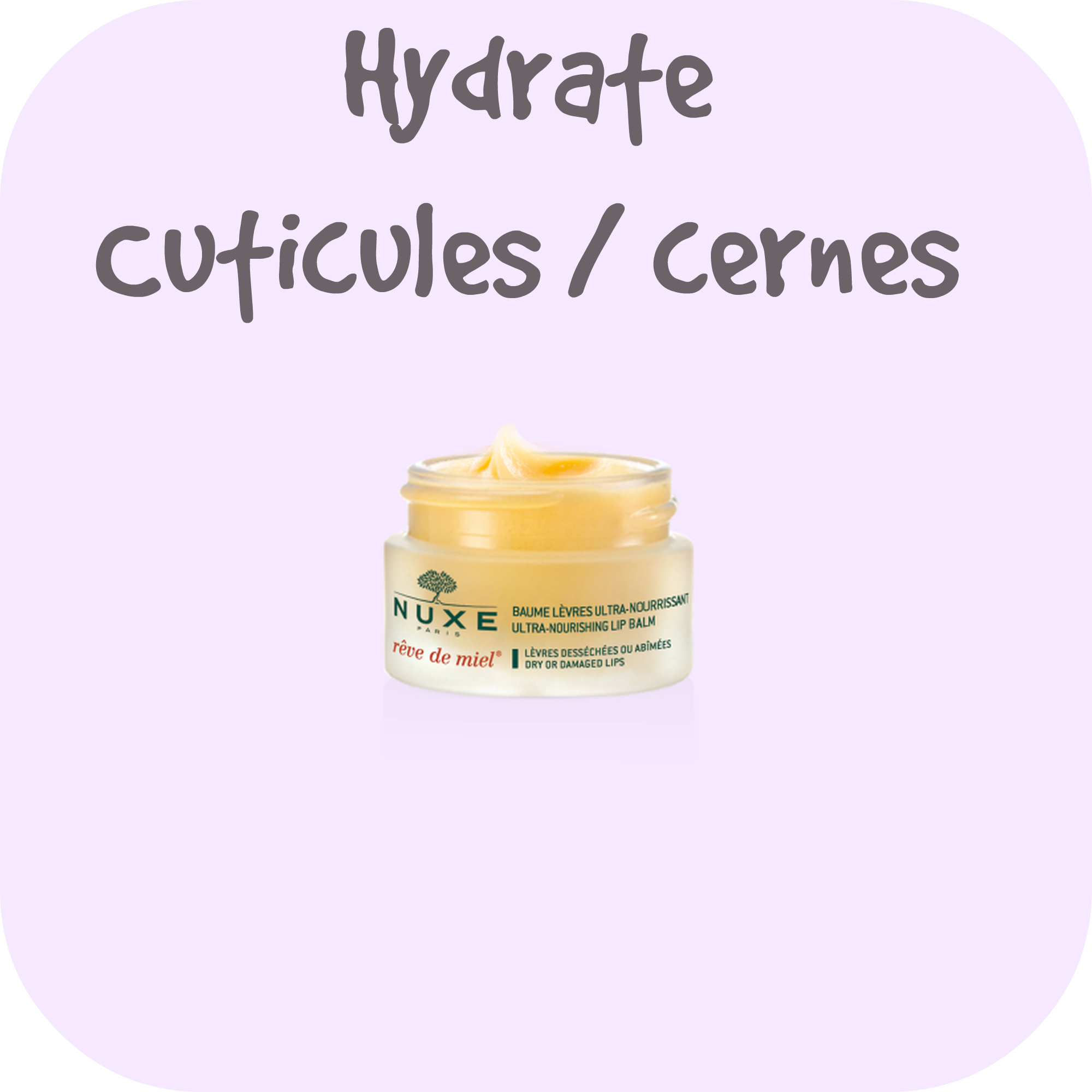 hydrate cuticules